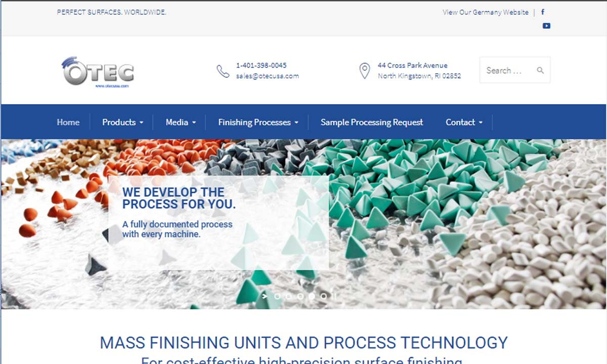 OTEC Precision Finish, Inc.