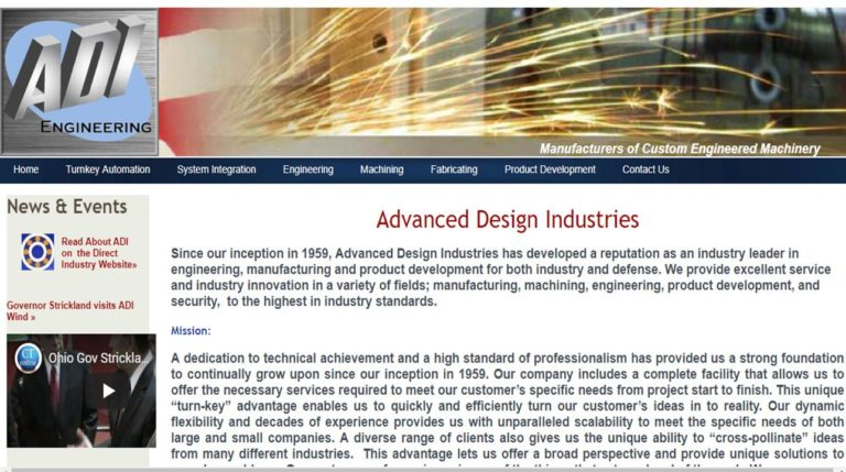 Advanced Design Industries, Inc.