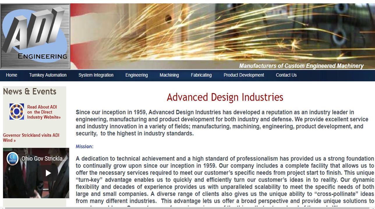 Advanced Design Industries, Inc.