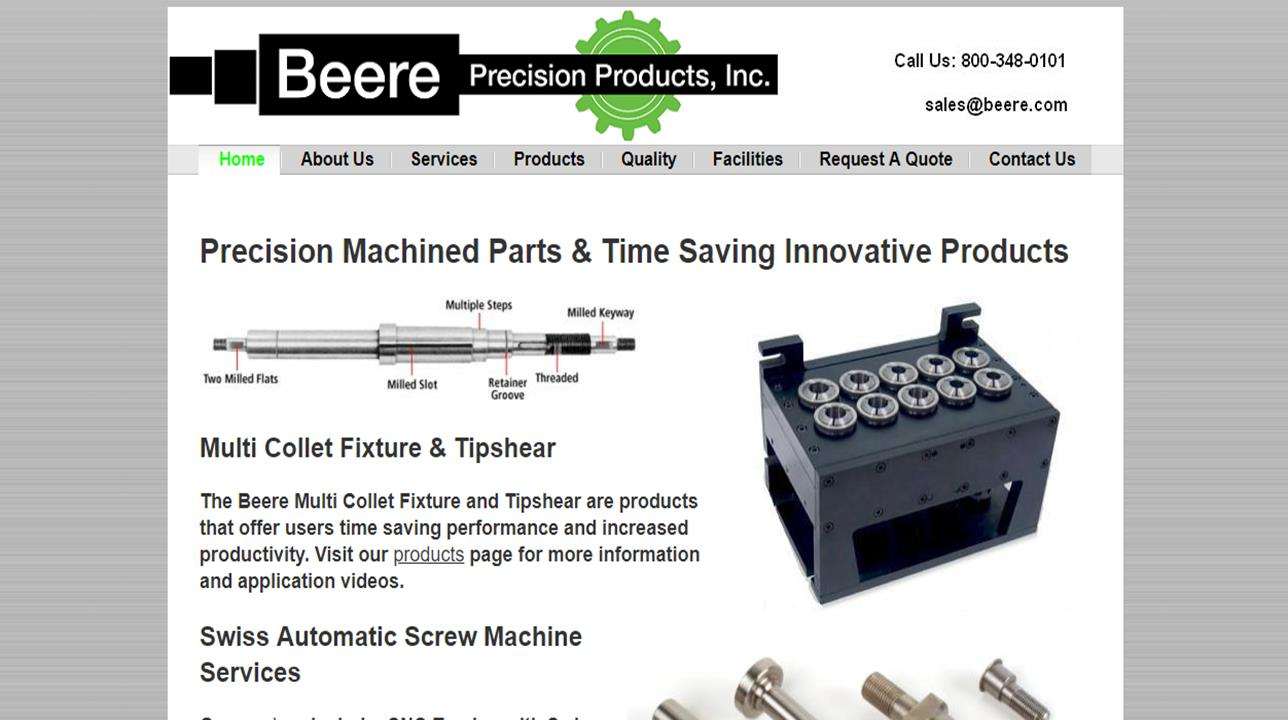 Beere Precision Products