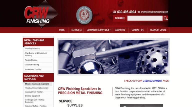 CRW Finishing, Inc.