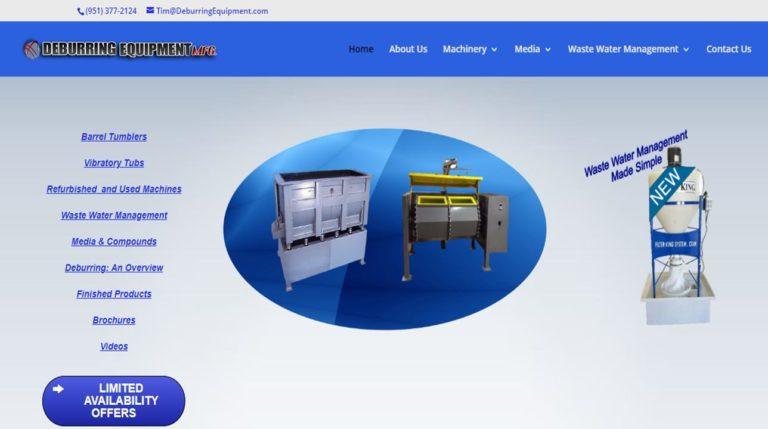 Deburring Equipment Manufacturing