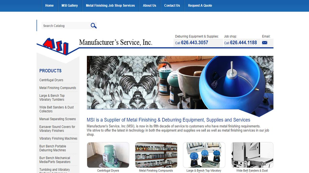 Manufacturer's Service, Inc. (MSI)