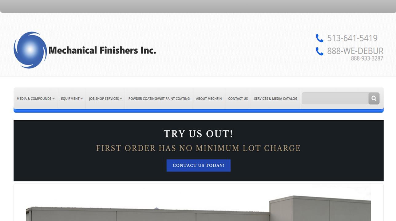 Mechanical Finishing, Inc.