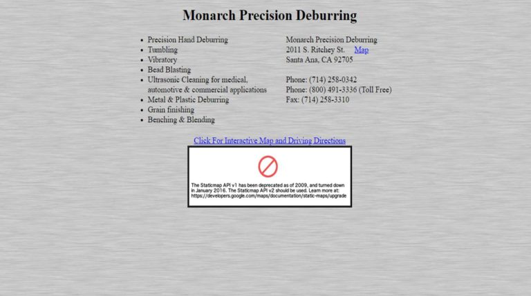 Monarch Precision Deburring