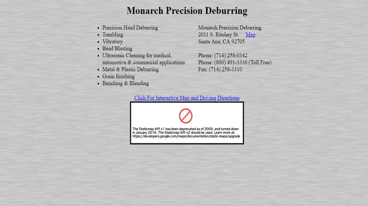 Monarch Precision Deburring