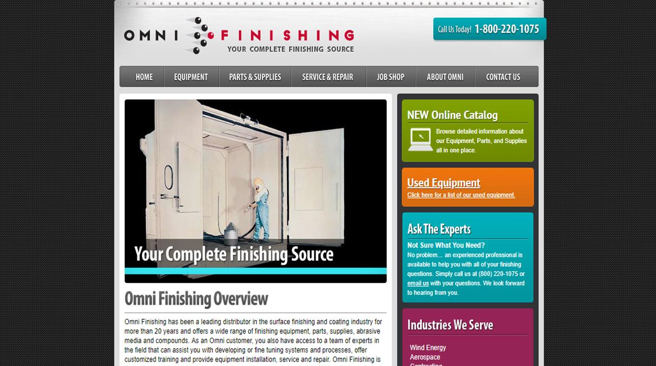 Omni Finishing Systems, Inc.