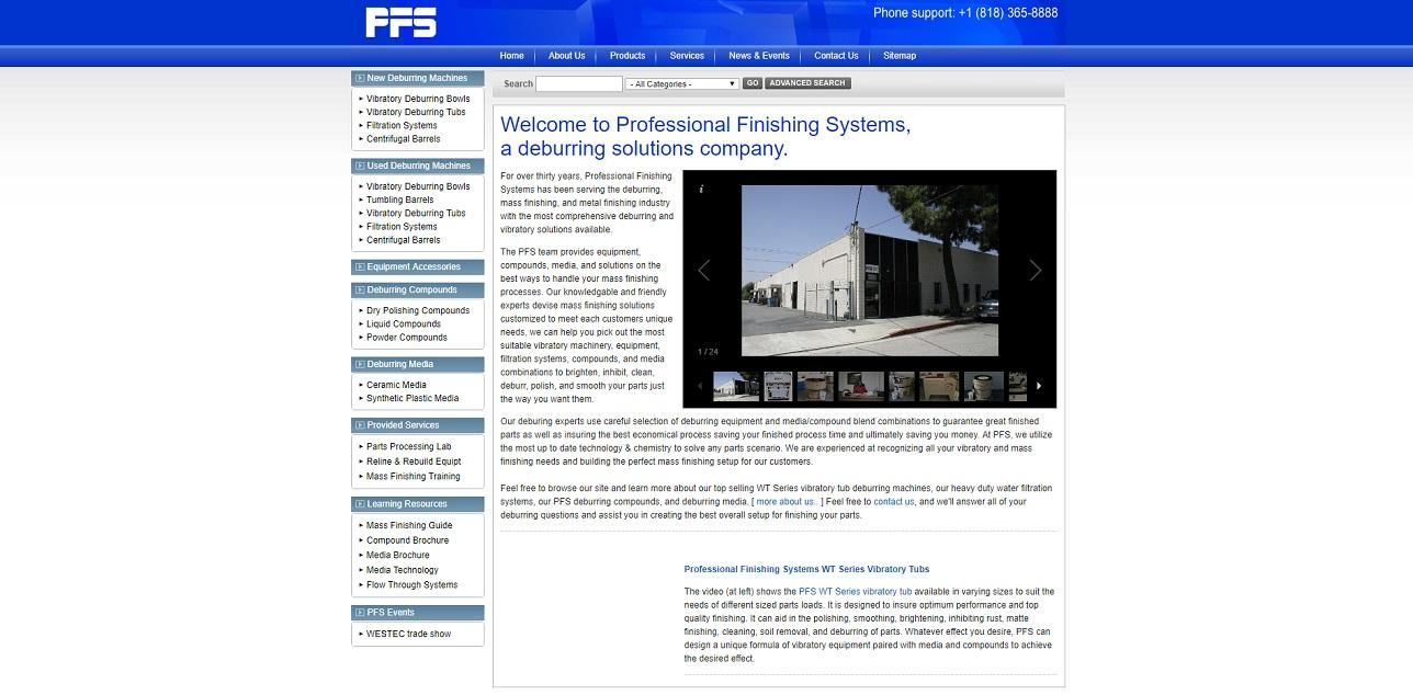 Professional Finishing Systems Inc.