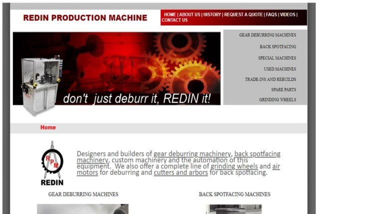 Redin Production Machine