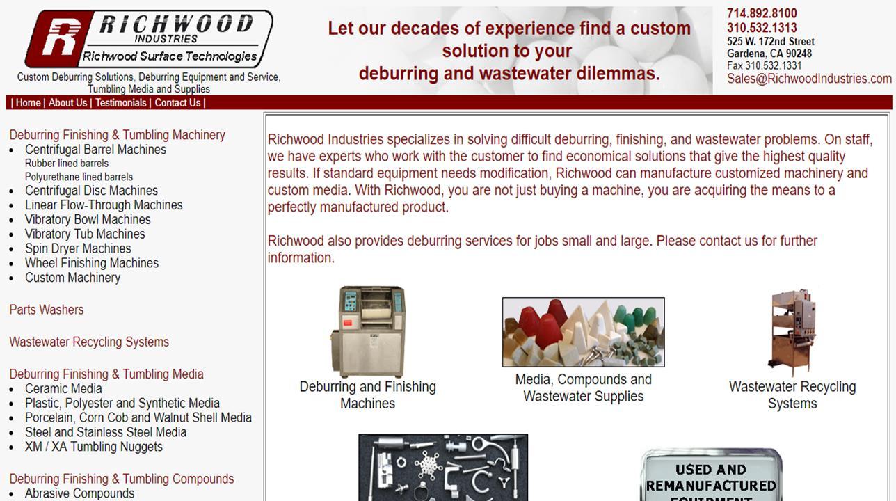 Richwood Industries, Inc.