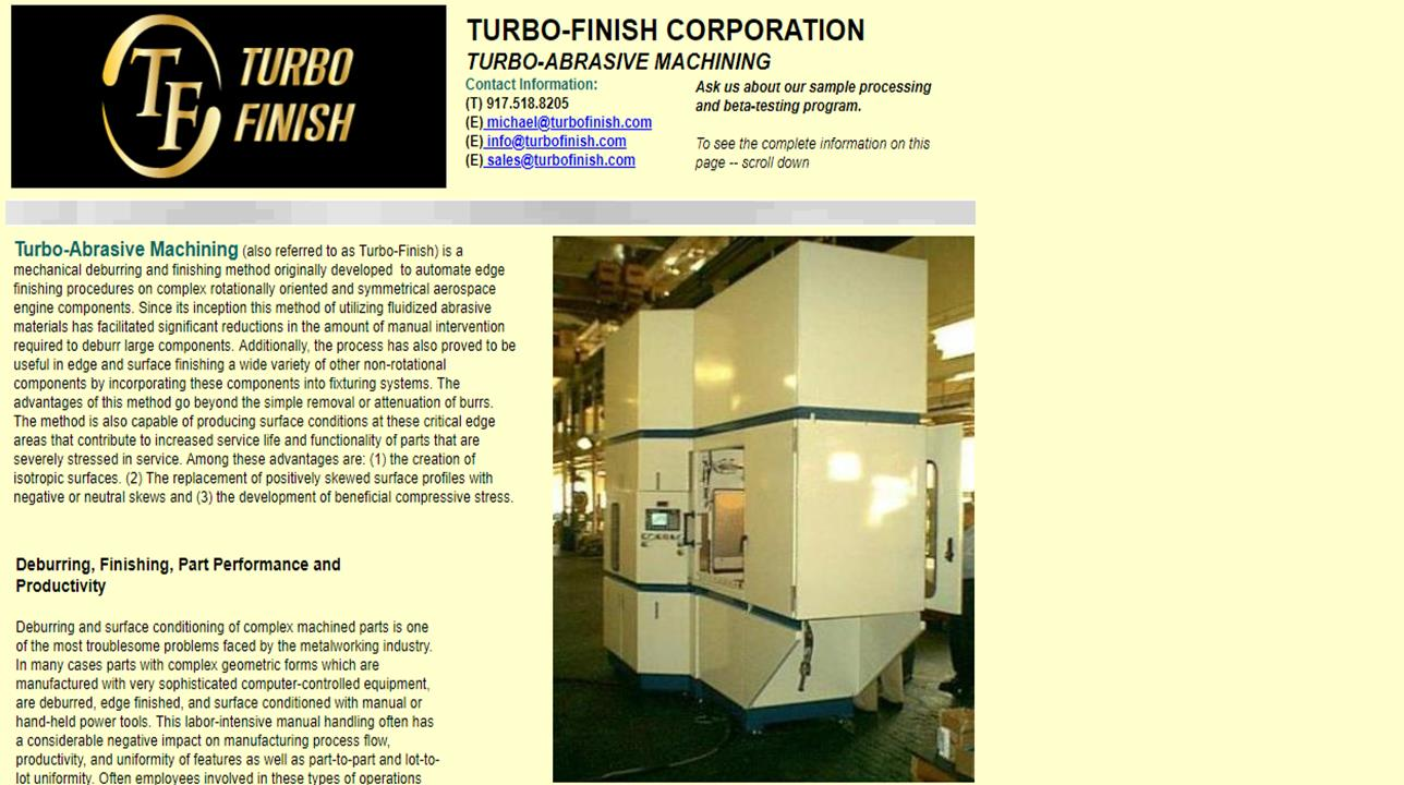 Turbo-Finish Corp